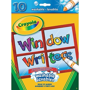 Crayola® Window Writer Markers, 10/Pack