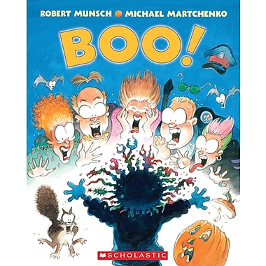 Scholastic® Boo! By Robert Munsch, English