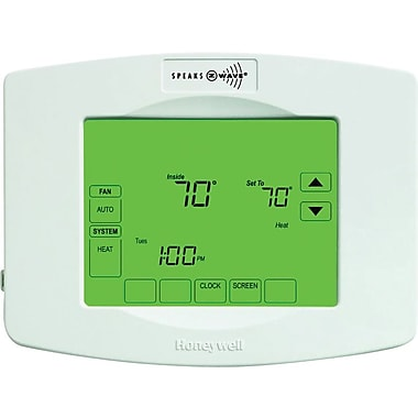 Honeywell Z-Wave Enabled Programmable Thermostat, White