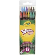 Crayola Twistables Colored Pencils, 12 Count Assorted Colors
