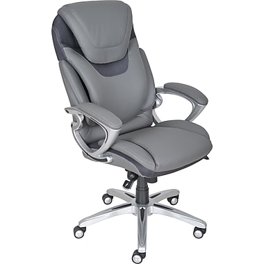 Serta 43807 Executive Chair, Gray