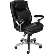 Serta 44103 Mid-Back Office Chair, Black