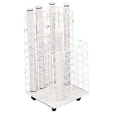 Safco® 4-Compartments Wire Storage File