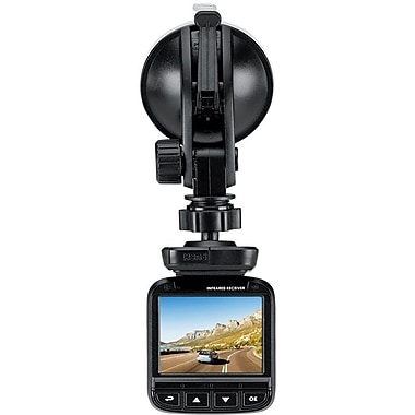 Genius Car Dash Digital Camera Video Recorder (DVR-FHD590), Full HD, 2.4