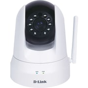 D-Link® (DCS-5020L) Wireless N Pan & Tilt Day/Night Network Camera, White
