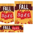 Fall Sale Signs, Assorted Sizes, 22/Pack