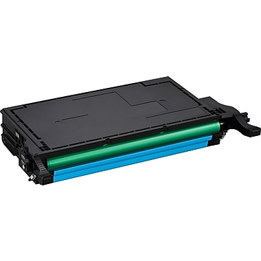 Samsung CLT-C508L Cyan Toner Cartridge, High Yield (CLT-C508L/SEE)