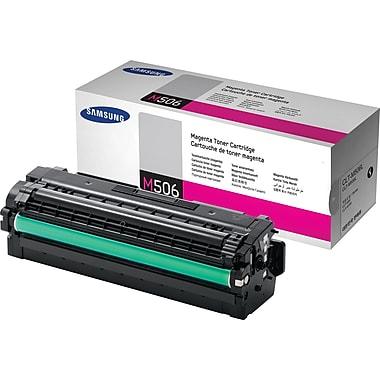 Samsung CLT-M506L Magenta Toner Cartridge, High Yield (CLT-M506L/XAA)