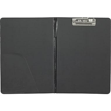 MerangueMD – Planchette avec pince et pochette intérieure, 12 1/2 x 9 1/4 po, noir