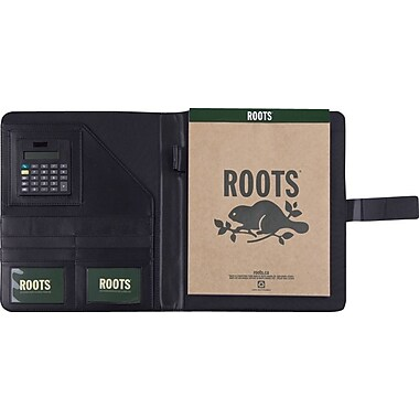 Roots® Magnetic Tab Slim Padfolio