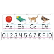 TREND Photo Alphabet Zaner - Bloser Manuscript Bulletin Board Set