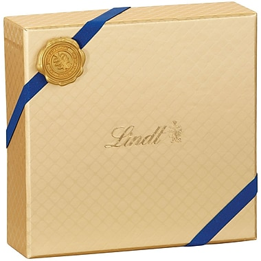 Lindt Emblem Lindor Truffle Gift Box, Gold