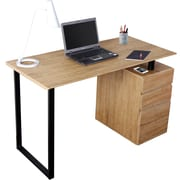 Techni Mobili Computer Desk with Storage and File Cabinet