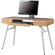Techni Mobili RTA-1458 Contemporary Computer Desk, Pine