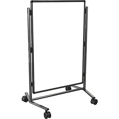Modifier XV Height Adjustable Easel, Melamine, 40in. x 30in., Black