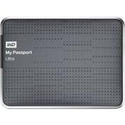 WD My Passport Ultra 500GB Portable Hard Drive (Titanium)