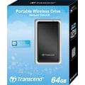 Transcend® StoreJet® Cloud 64GB USB Wi-Fi MLC External Hard Drive