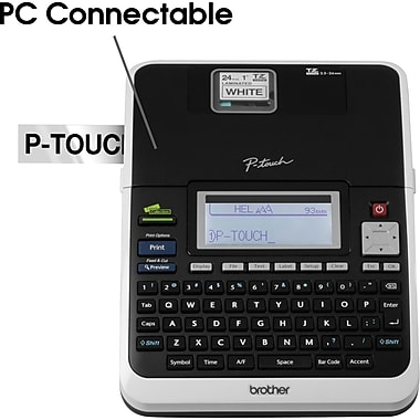 Brother® P-touch® PT-2730 PC-Connectable Simply Professional Labeling System