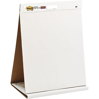 Post-it® Tabletop Easel Pads with Dry-Erase Board