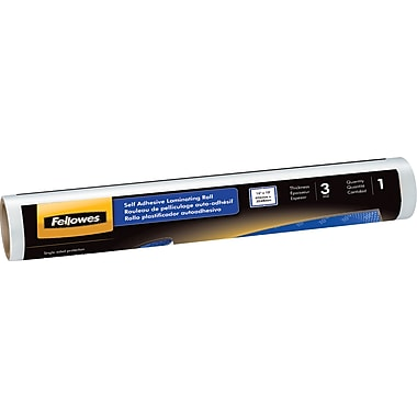 Fellowes ® Self-Adhesive Laminating Roll, 3 mil, 10'(H) x 16in.(W), 1 Each