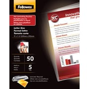 Fellowes Letter Size Laminating Pouches, 5 Mil, 150/Pack