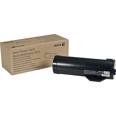 Xerox® - Cartouche de toner noir Phaser 3610/WorkCentre 3615, haut rendement (106R02731)