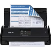 Brother® ADS-1000W Compact Color Wireless Desktop Scanner, Refurbished