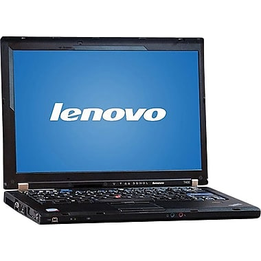 Refurbished Lenovo ThinkPad T400 14.1in., 160GB Hard Drive, 2GB Memory, Intel Core 2 Duo, Win 7 Home
