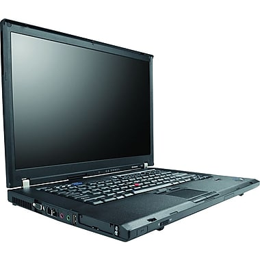 Refurbished Lenovo ThinkPad T61 14.1in., 80GB Hard Drive, 2GB Memory, Intel Core 2 Duo, Win 7 Home