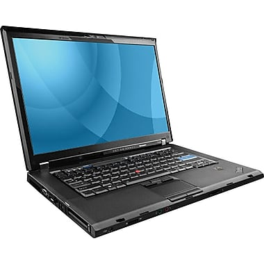 Refurbished Lenovo ThinkPad T500 15.4in., 160GB Hard Drive, 2GB Memory, Intel Core 2 Duo, Win 7
