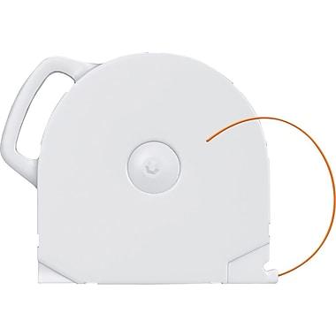 CubeX PLA Plastic Cartridge, Neon Orange