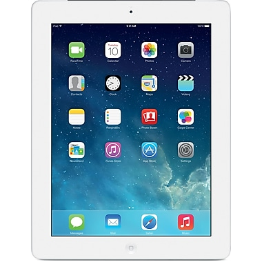 Apple iPad with Retina display with Wifi + Cellular (AT&T) 16GB, White
