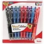 Pentel® WOW® Retractable Ballpoint Pens, Medium Point, Assorted,