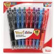 Pentel® WOW™ Retractable Ballpoint Pens, Medium Point, Assorted, 18/Pack