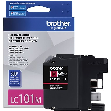 Brother LC101 (LC101MS) Magenta Ink Cartridge