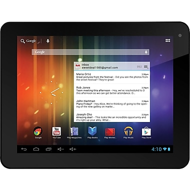 Ematic 8 Pro Series Tablets 8in., 8GB, Black