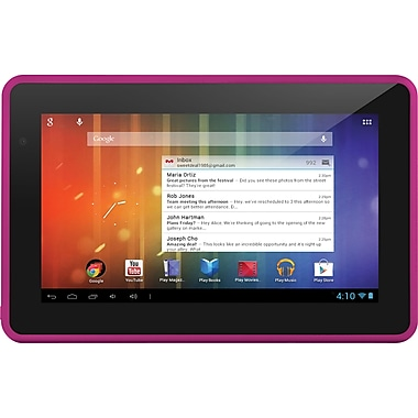 Ematic Genesis Prime Tablets 7in., 4GB, Pink