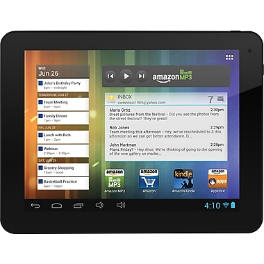 Ematic Genesis Prime Tablets, 8in., 4GB, Black