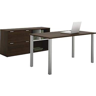 Contempo Executive desk kit in Tuxedo