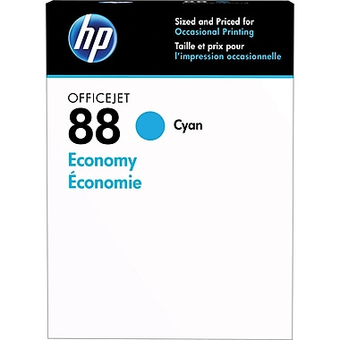HP 88 Cyan Economy Ink Cartridges (D8J37AN)