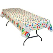 54 x 108 Party Balloon Print Table cover