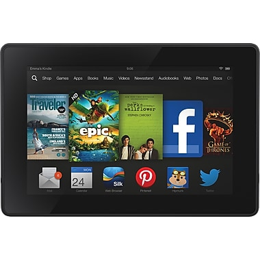 Kindle Fire 7in. HD 16GB Tablet, Wifi (New) with Special Offers