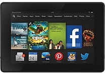Kindle Fire 7' HD 16GB Tablet, Wifi with Special Offers