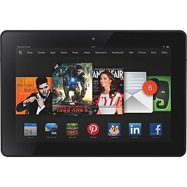 Kindle Fire HDX 7in. 16GB Tablet, Wifi