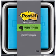 Post-it® 3 x 3 Flat Dispenser, Evernote Collection