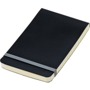 "Idea Collective® Softcover Journal, Top Bound, Wide Rule, Black, 3-1/2"" x 5-1/2"""