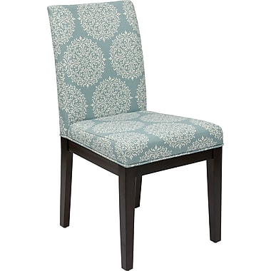 Office Star Avenue Six Dakota Fabric Desk Chair, Gabrielle Sky