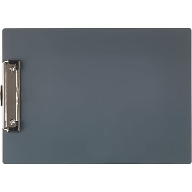 Staples Storage Pocket Clipboard, Gray, 9