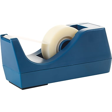 Staples® Tape Dispenser, 1in. Core, Blue