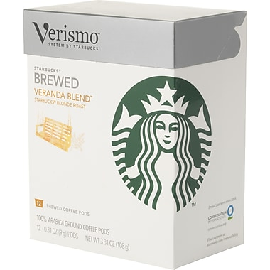 Starbucks Verismo Coffee Pods, Veranda Blend , 12/Pack